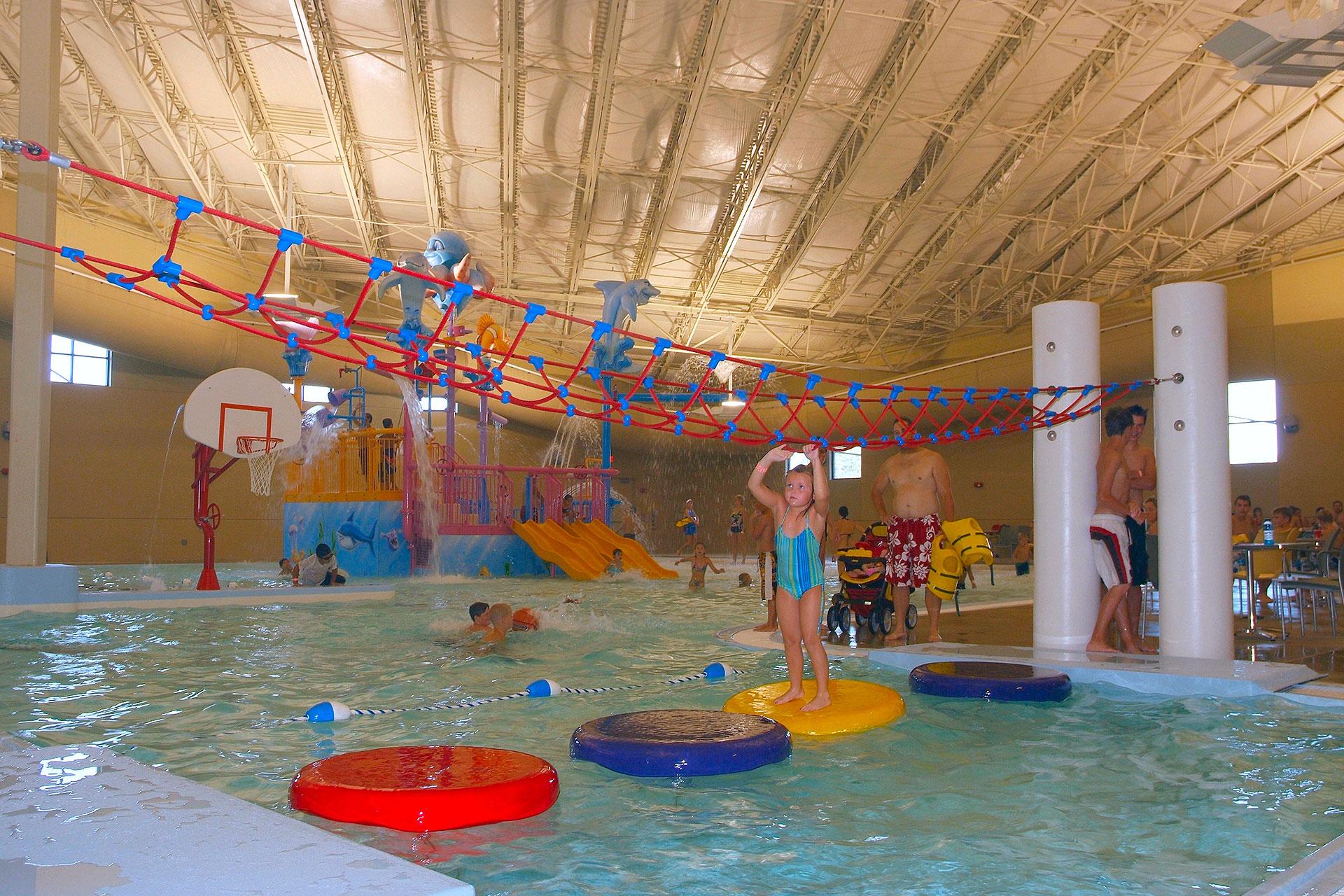Indoor Water Park at Kings Pointe Waterpark Resort