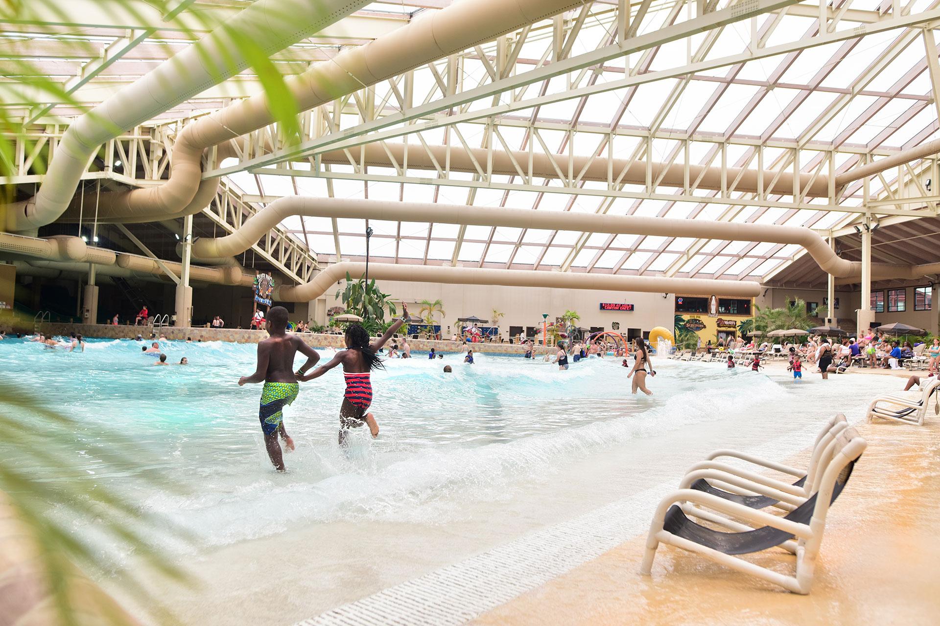 Indoor Water Park at Wilderness Resort in Wisconsin Dells