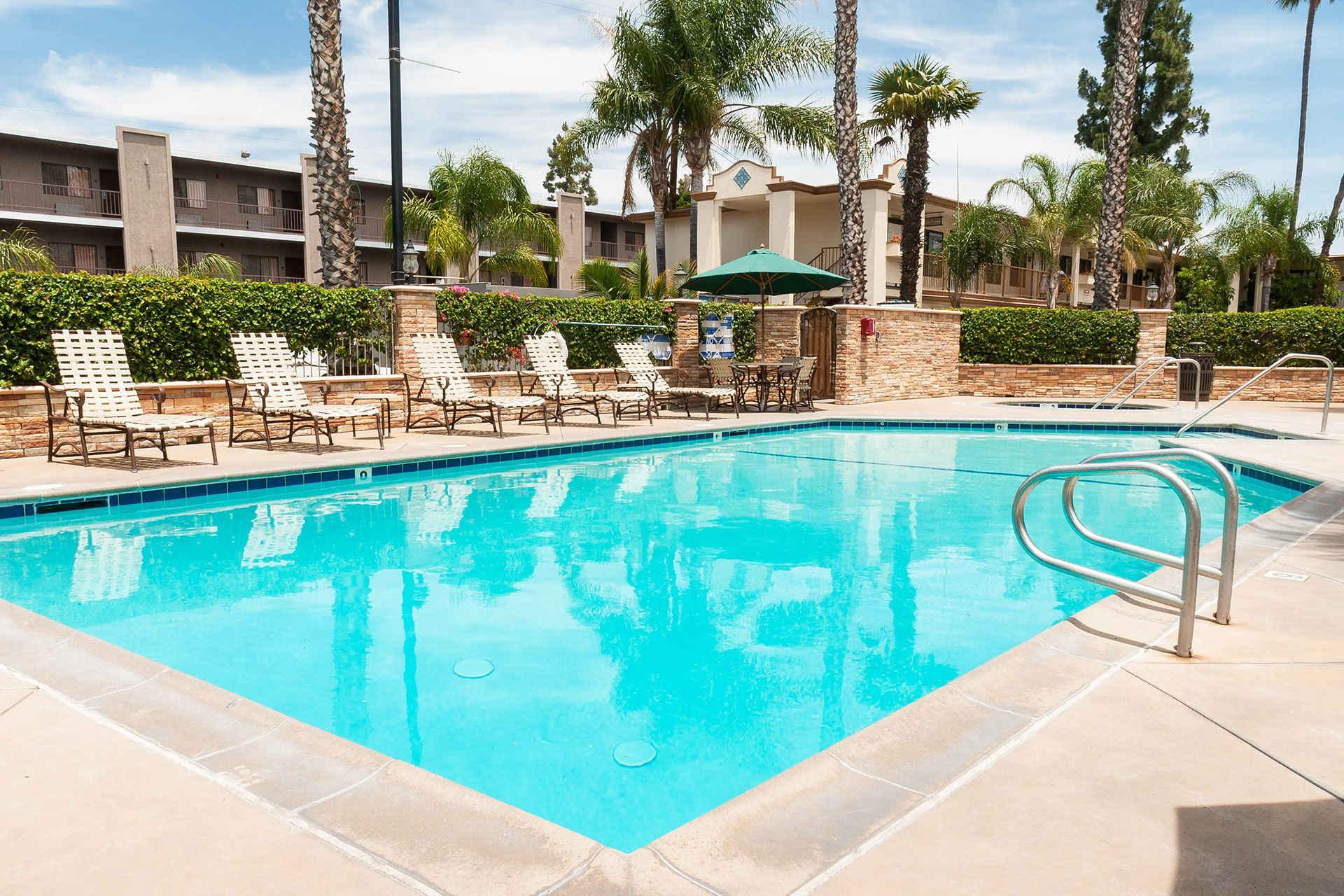 pool at Park Vue Inn; Courtesy of Park Vue Inn