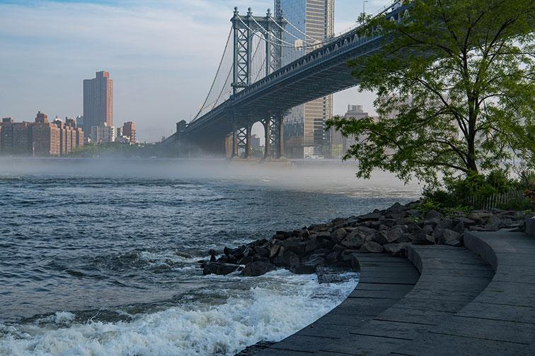 Brooklyn Bridge Park in New York City