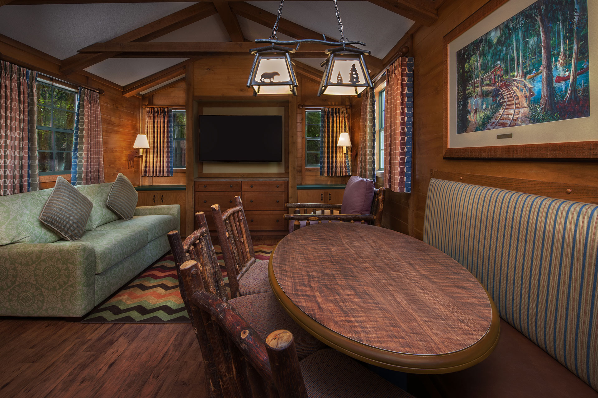 The Cabins at Disney's Fort Wilderness Resort; Courtesy of Disney