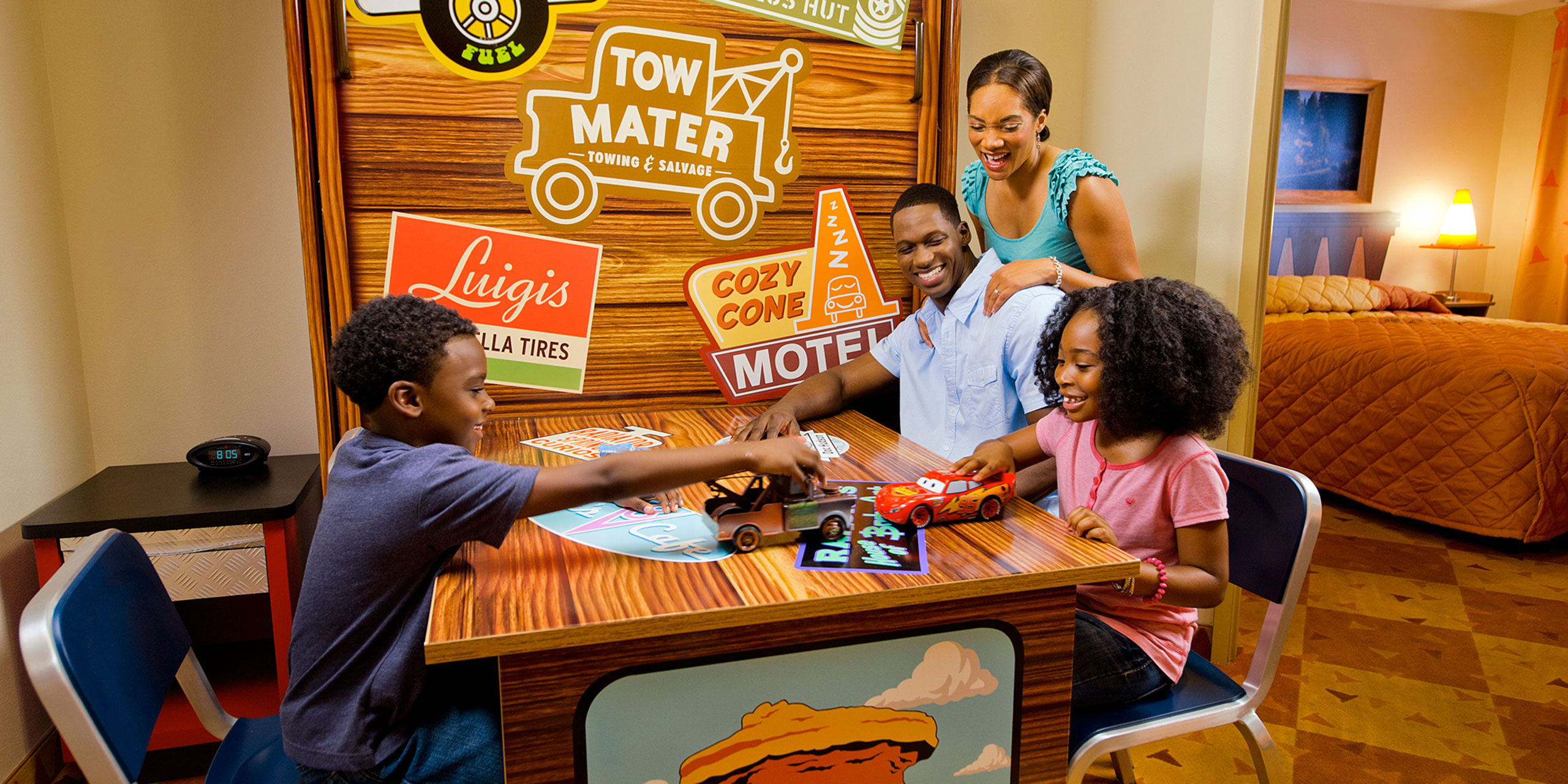 Cars Suite at Disney's Art of Animation Resort; Courtesy of Disney