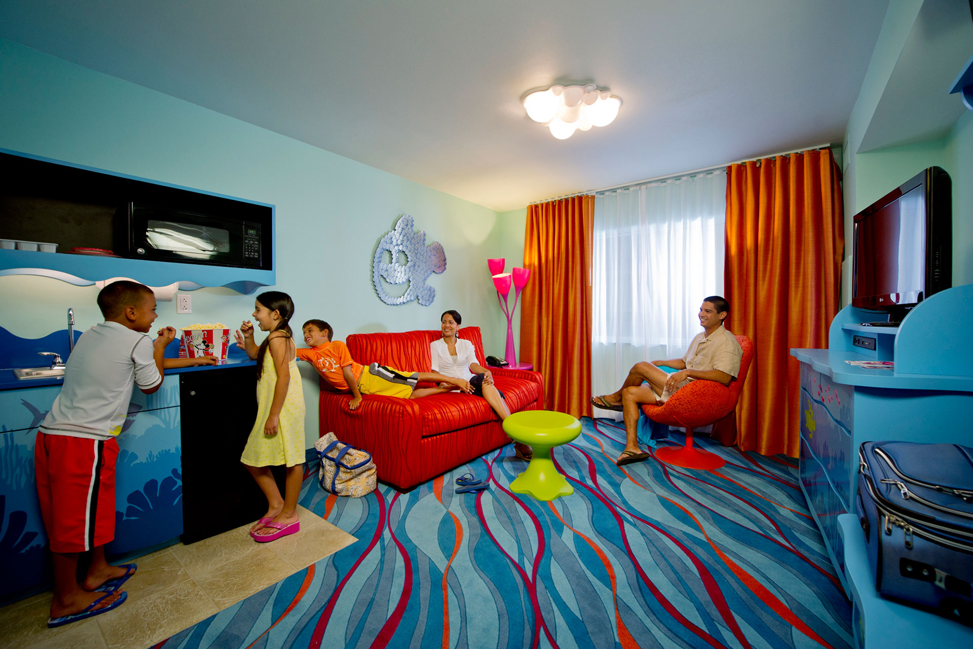 Finding Nemo Suite at Disney's Art of Animation Resort; Courtesy of Disney