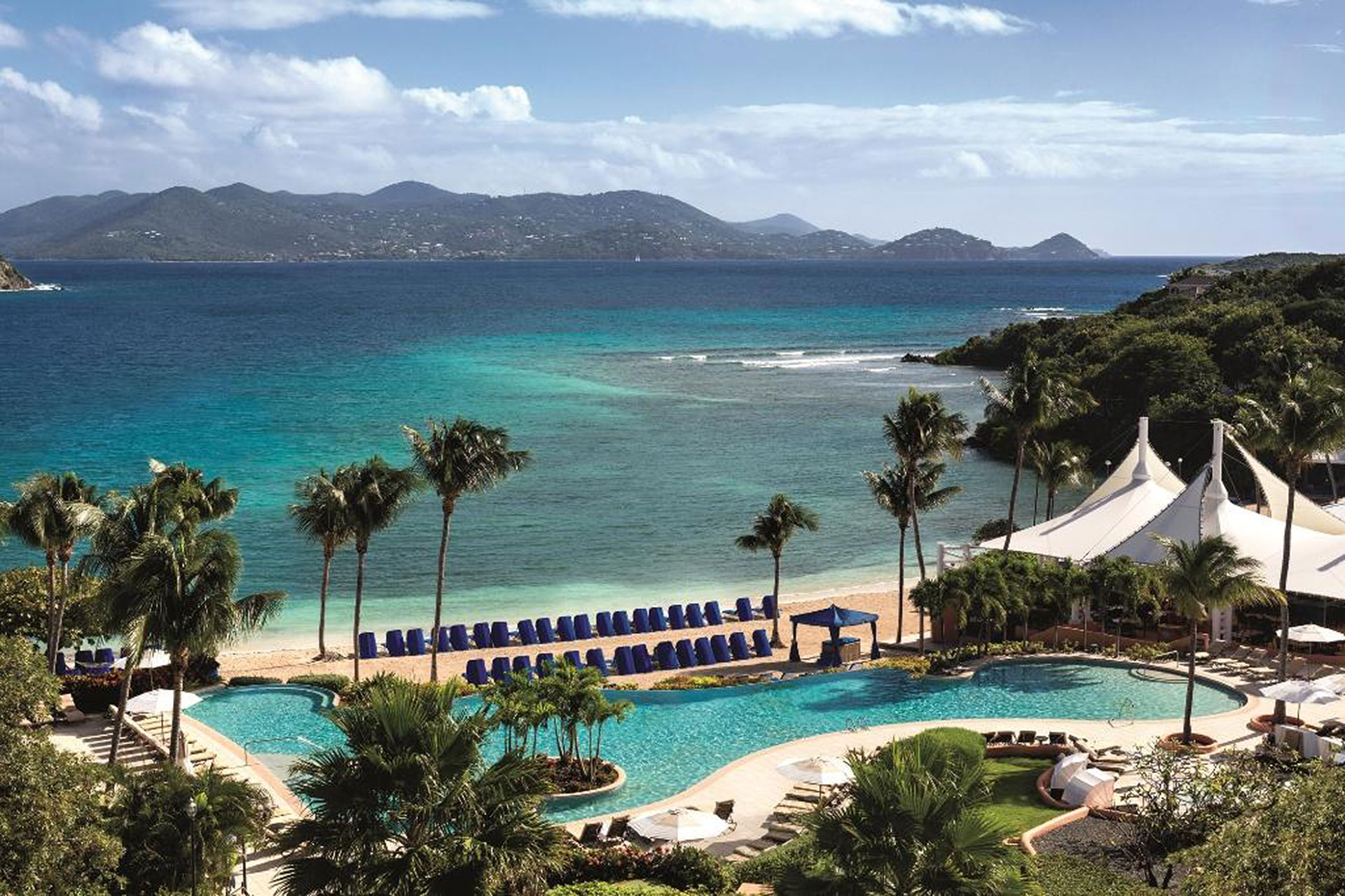 Infinity Pool at The Ritz-Carlton, St. Thomas; Courtesy of The Ritz-Carlton, St. Thomas