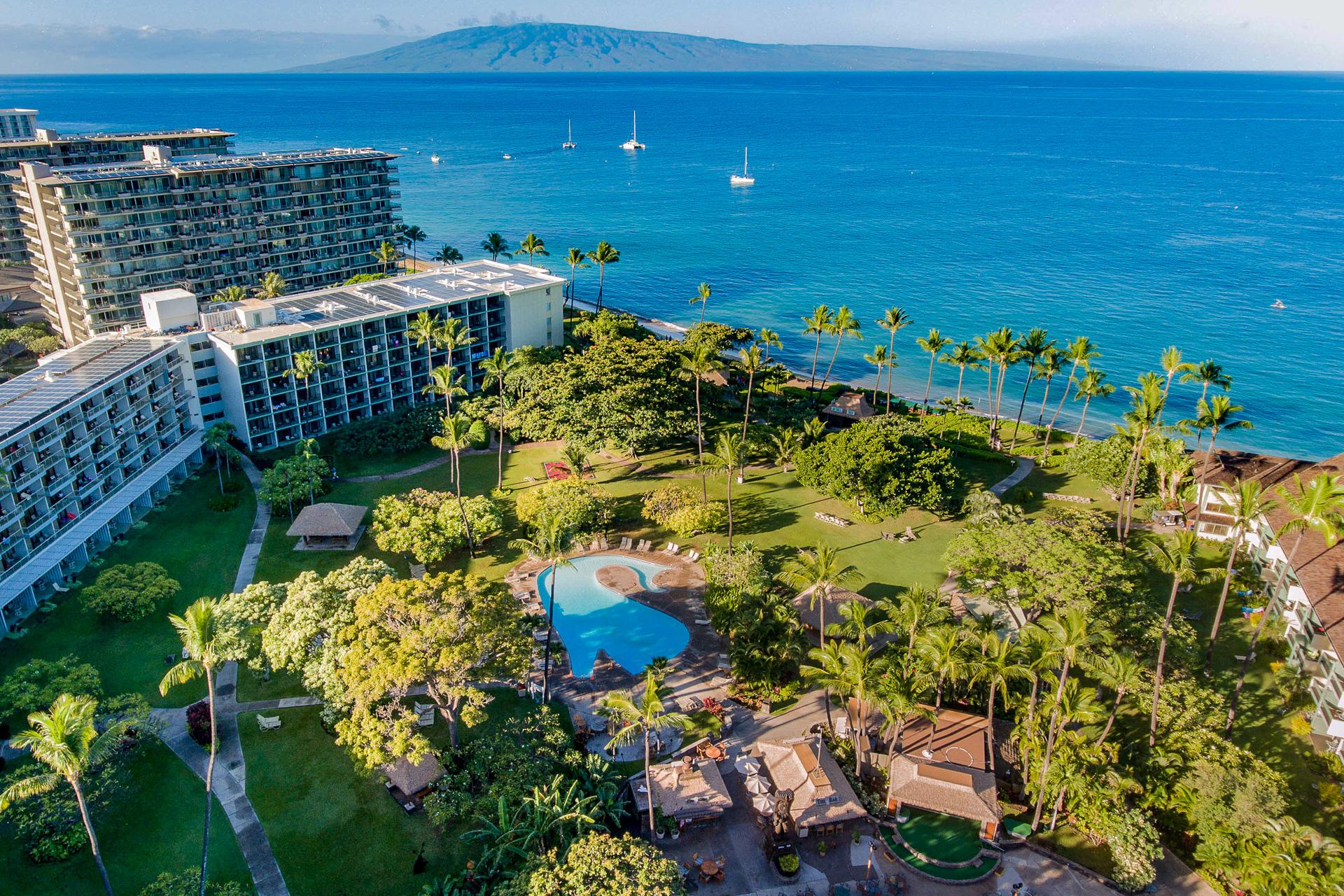 Aerial view of Ka'anapali Beach Hotel; TripAdvisor Expert Photo
