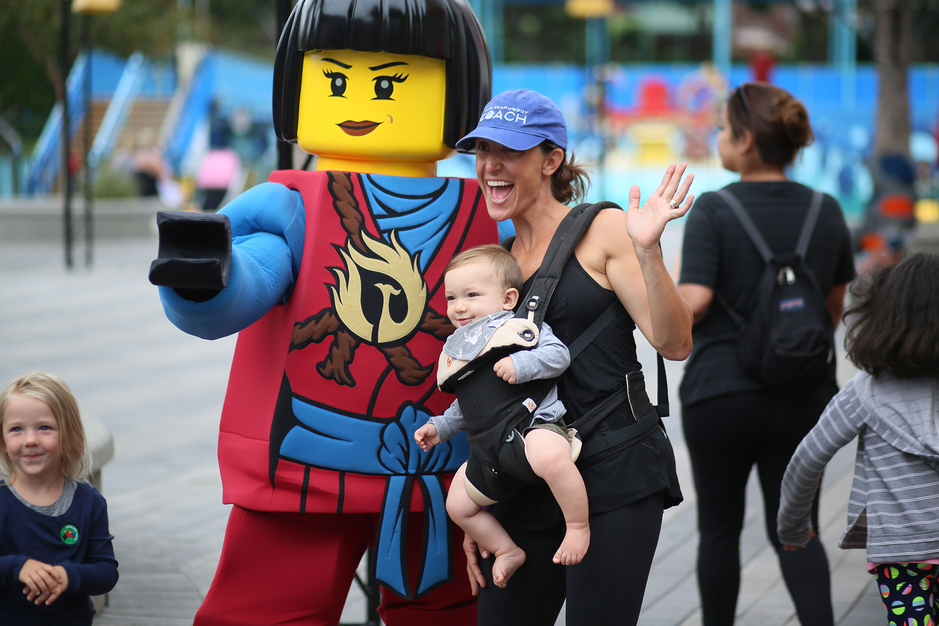 Character Meet-and-Greet at LEGOLAND California