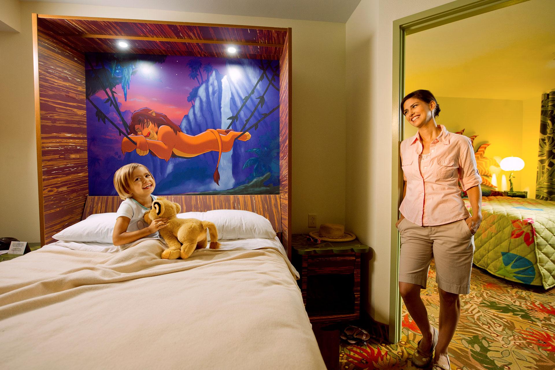 Lion King Suite at Disney's Art of Animation Resort; Courtesy of Disney