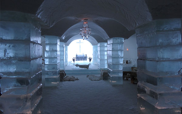 Sorrisniva Igloo Hotel in Alta, Norway
