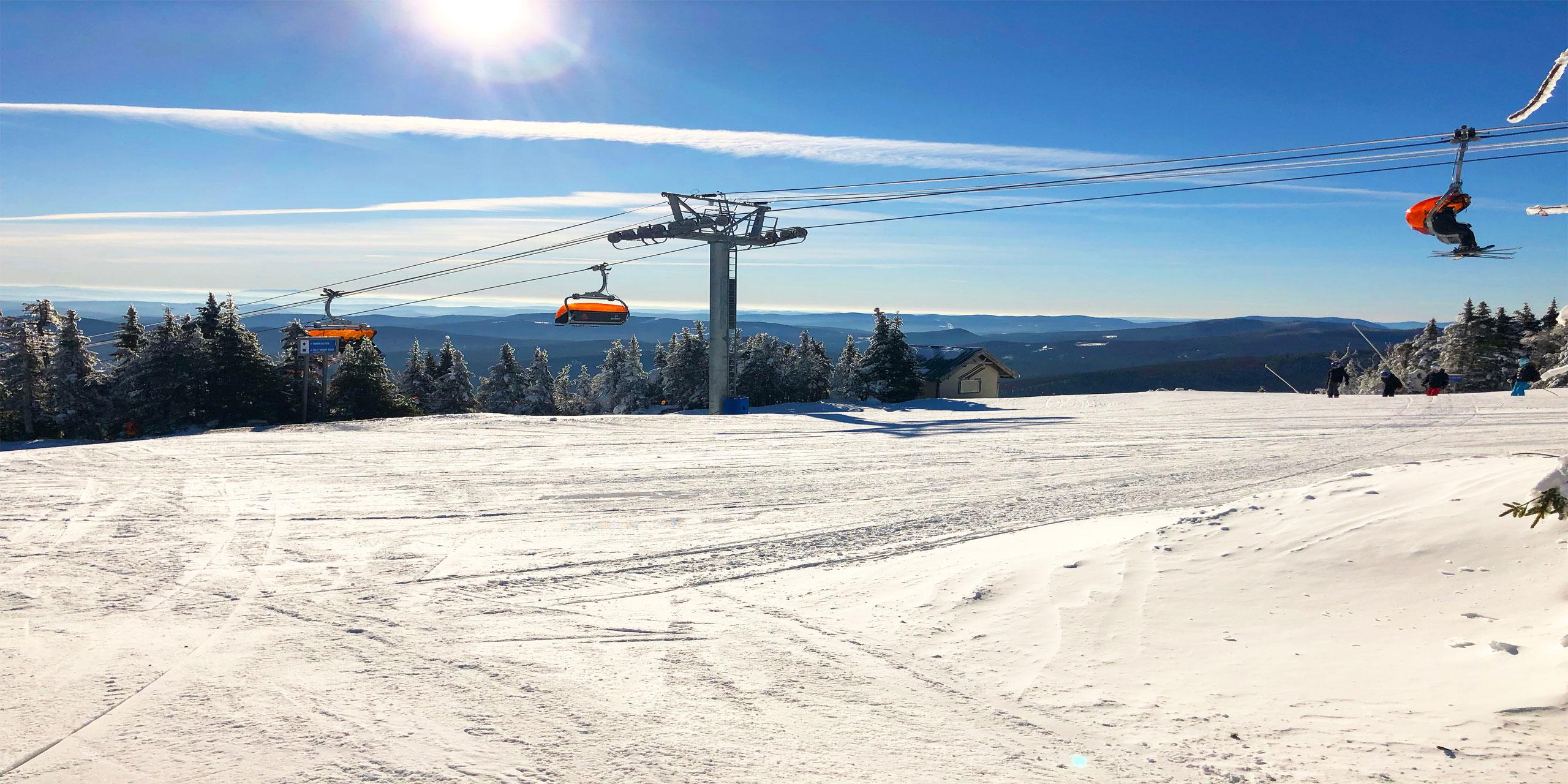 Okemo, Vermont; Courtesy of Robert Colonna/Shutterstock.com