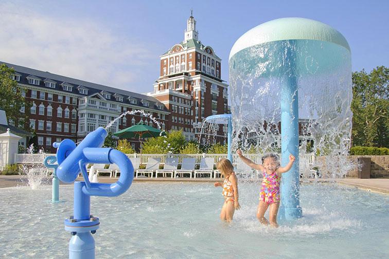 The Omni Homestead Resort in Hot Springs, Virginia
