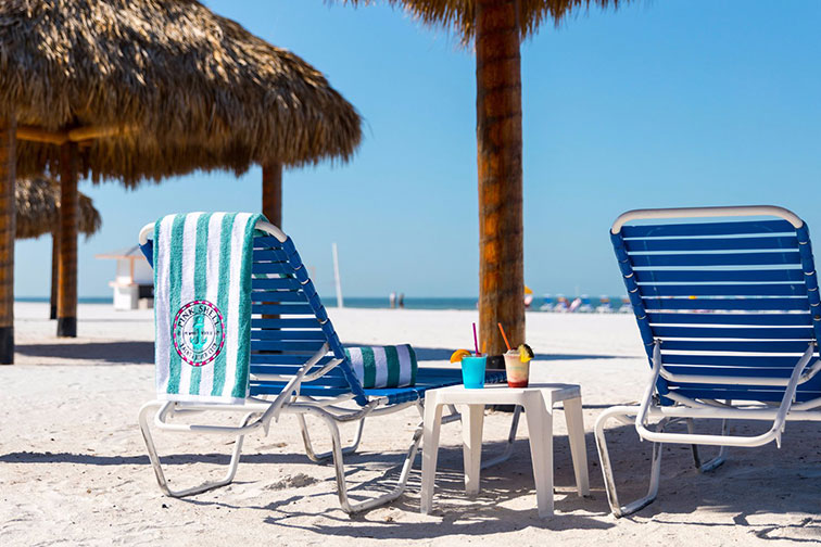 Pink Shell Beach Resort & Marina in Fort Myers, Florida
