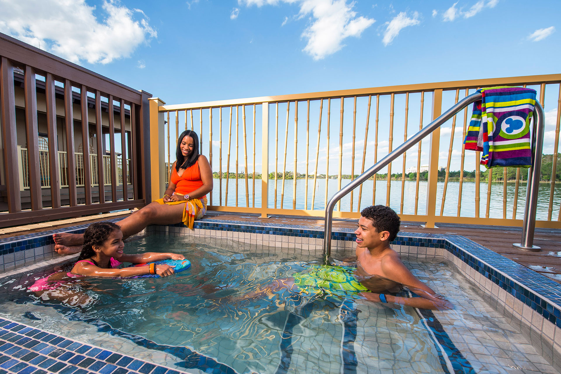 Plunge Pool at Disney's Polynesian Villas; Courtesy of Disney
