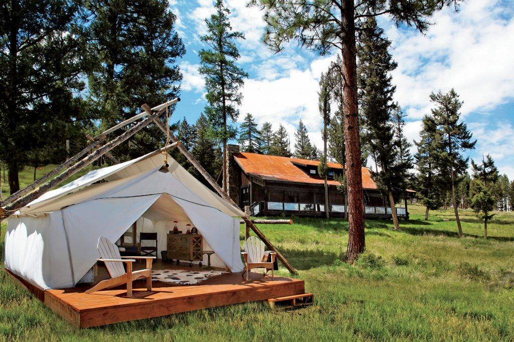 The Resort at Paws Up; Courtesy of The Resort at Paws Up