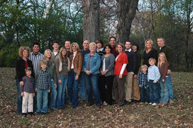Family Members at Reunion