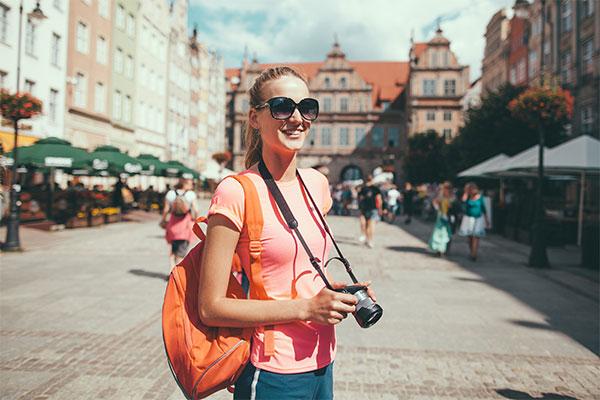 Teen Traveling
