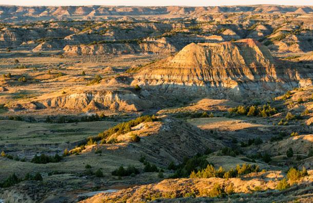 Theodore Roosevelt National Park in South Dakota
