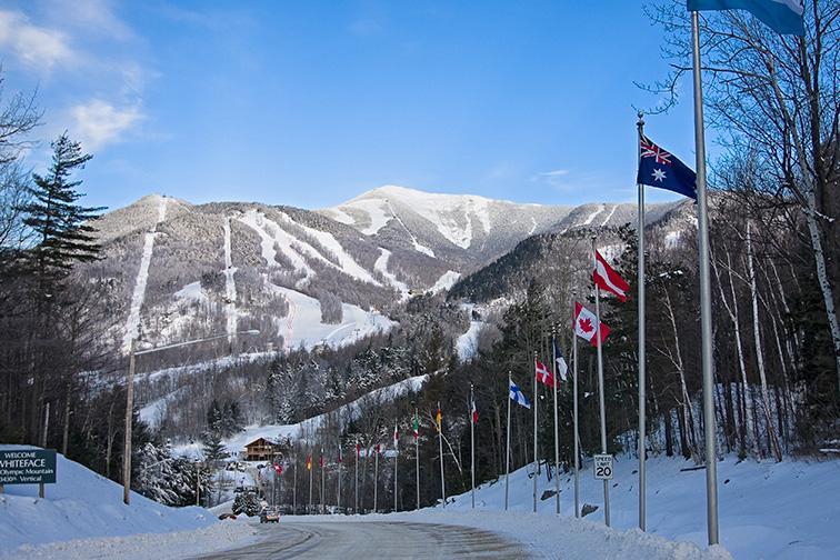 whiteface mountain entrance; Courtesy of Whiteface Resort
