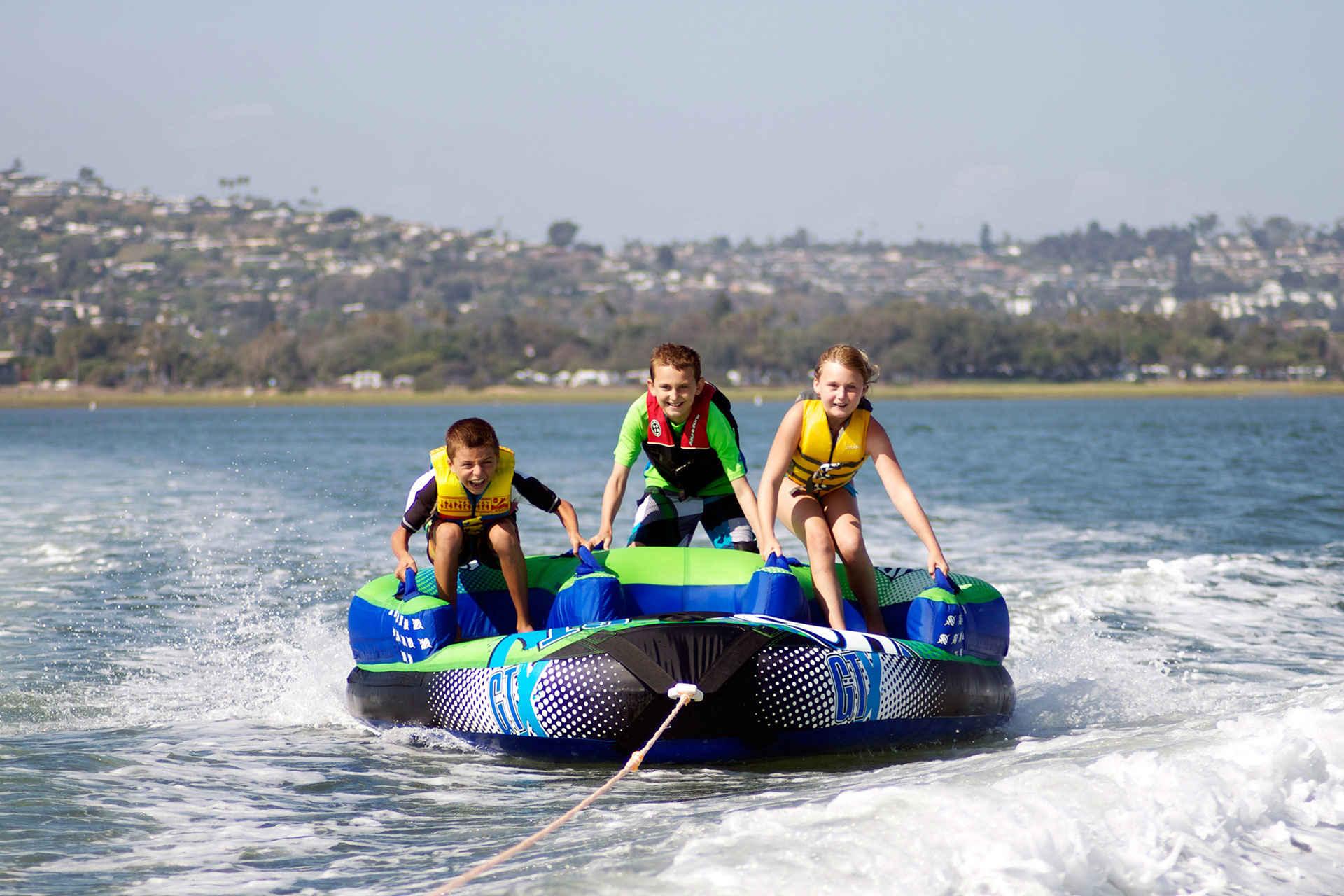 Kids Boating in San Diego, California