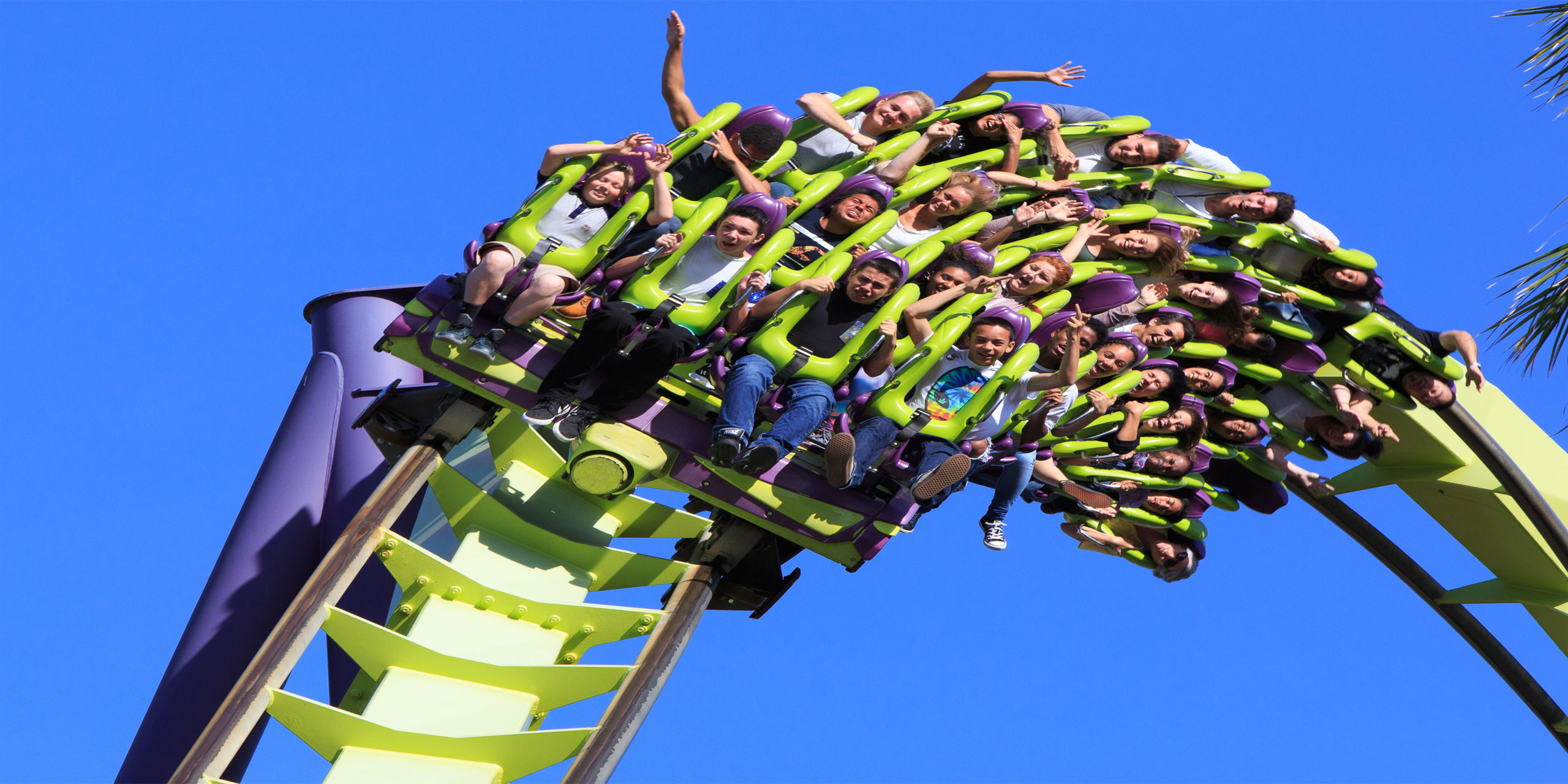 Thrill Roller Coaster; Courtesy of Cassiohabib/Shutterstock.com