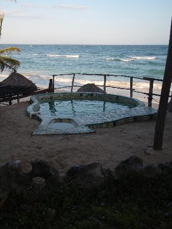 The perfect beach retreat at Cabanas Copal. - Picture of