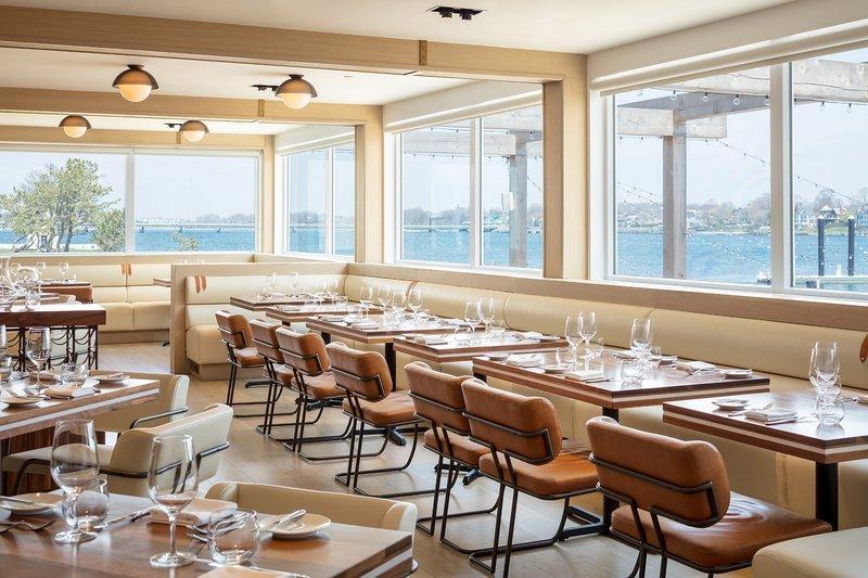 Restaurant at Gurney's Newport Resort; Courtesy of Gurney's Newport Resort