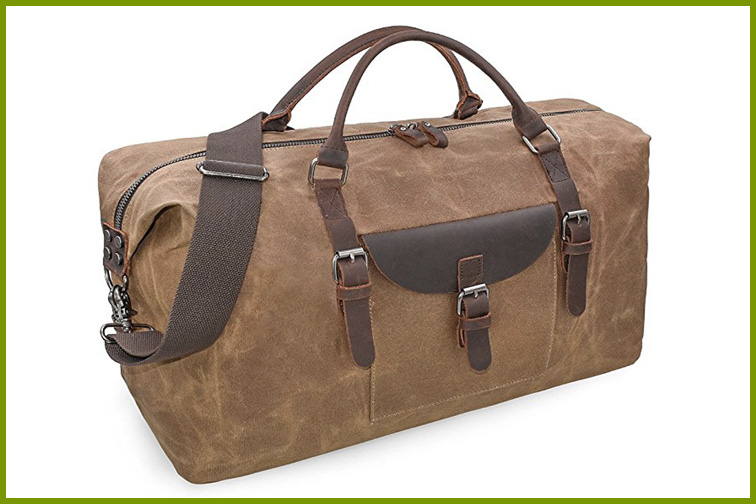 Newhey Weekender Bag in Brown