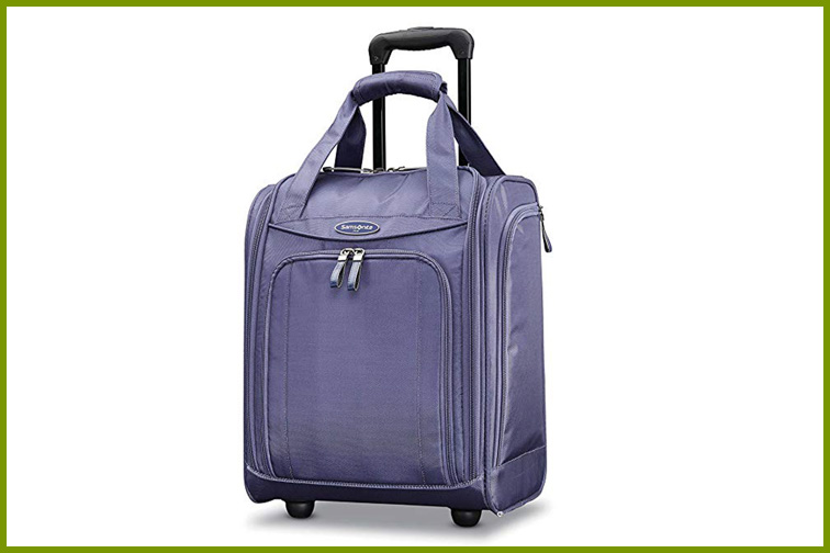 Samsonite Wheeled Underseater in Purple