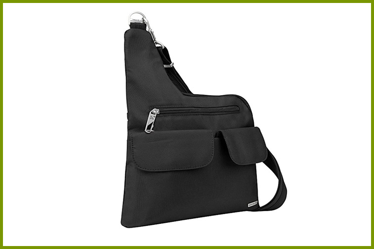 Travelon Anti-Theft Cross Body Bag in Black