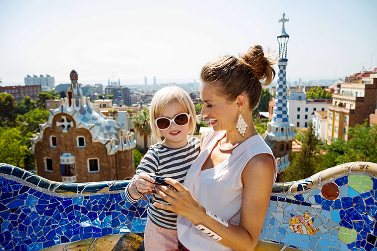 mom and daughter in barcelona; Courtesy of Alliance Images /Shutterstock
