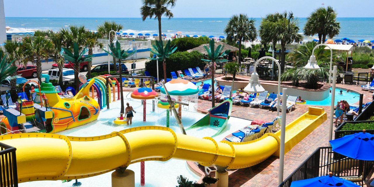 Captain's Quarters Resort - Oceanfront Hotel In Myrtle Beach
