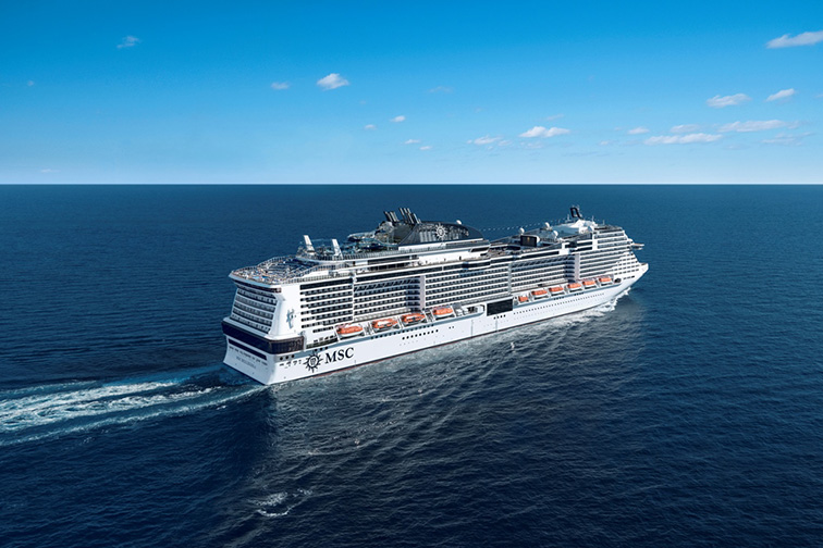 MSC Virtuosa; Courtesy of MSC
