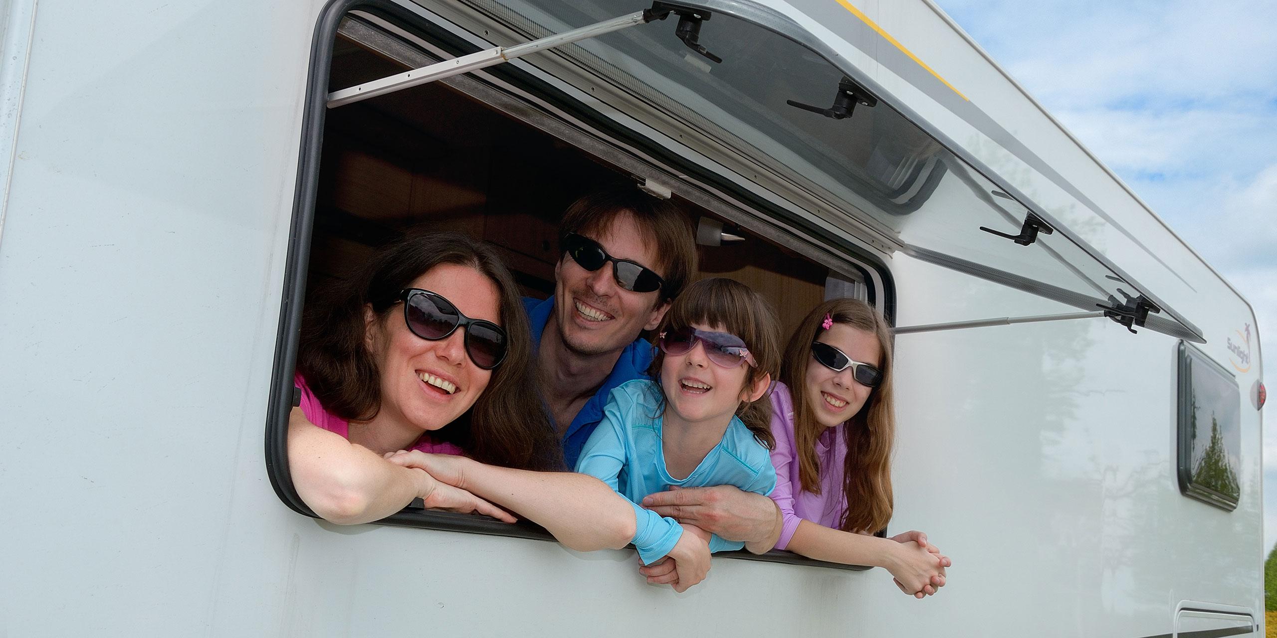 RV Family Vacations; Courtesy of JaySi/Shutterstock.com