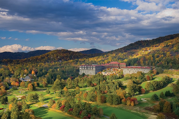 Omni Grove Park Inn in Asheville, North Carolina
