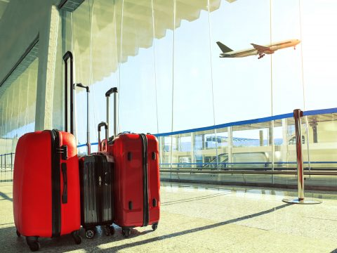 Luggage at the Airport; Courtesy of stockphoto mania/shutterstock.com