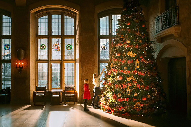 Christmas at the Castle at Fairmont Banff Springs in Banff, Canada