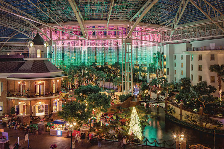 A Country Christmas at Gaylord Opryland Resort & Convention Center in Nashville, TN