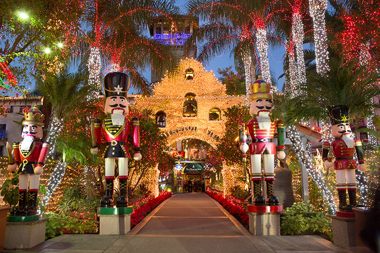 Festival of Lights at The Mission Inn Hotel & Spa in Riverside, CA