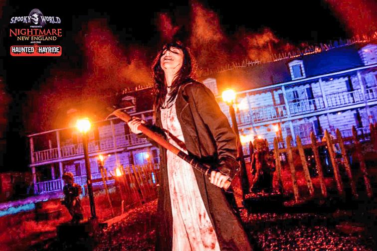 Nightmare New England; Courtesy of SpookyWorld
