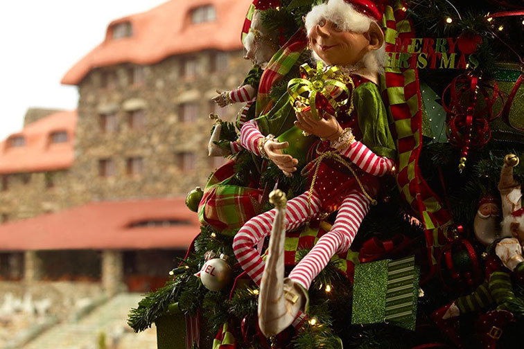 Holidays at Omni Grove Park Inn in Asheville, NC