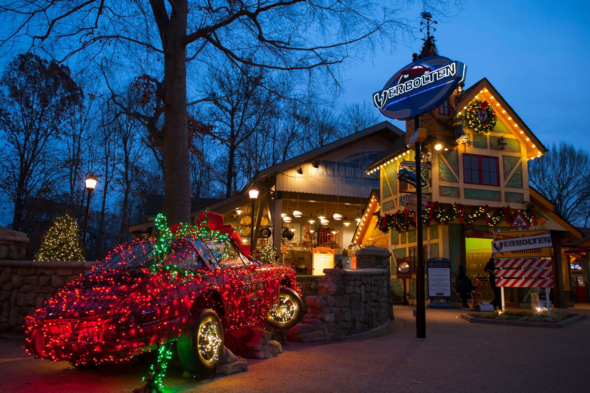 Christmas Town at Busch Gardens Williamsburg - Courtesy of Busch Gardens Williamsburg