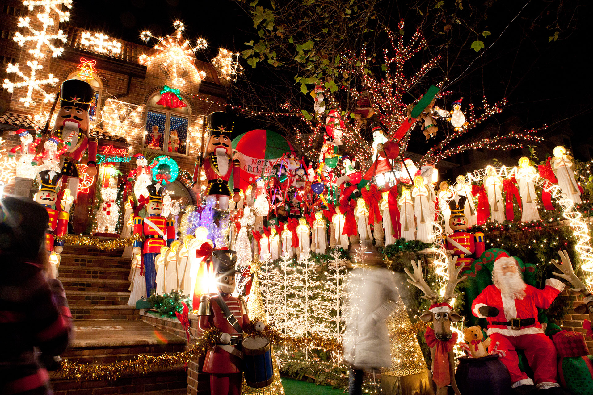 Dyker Heights Holiday Lights in New York City