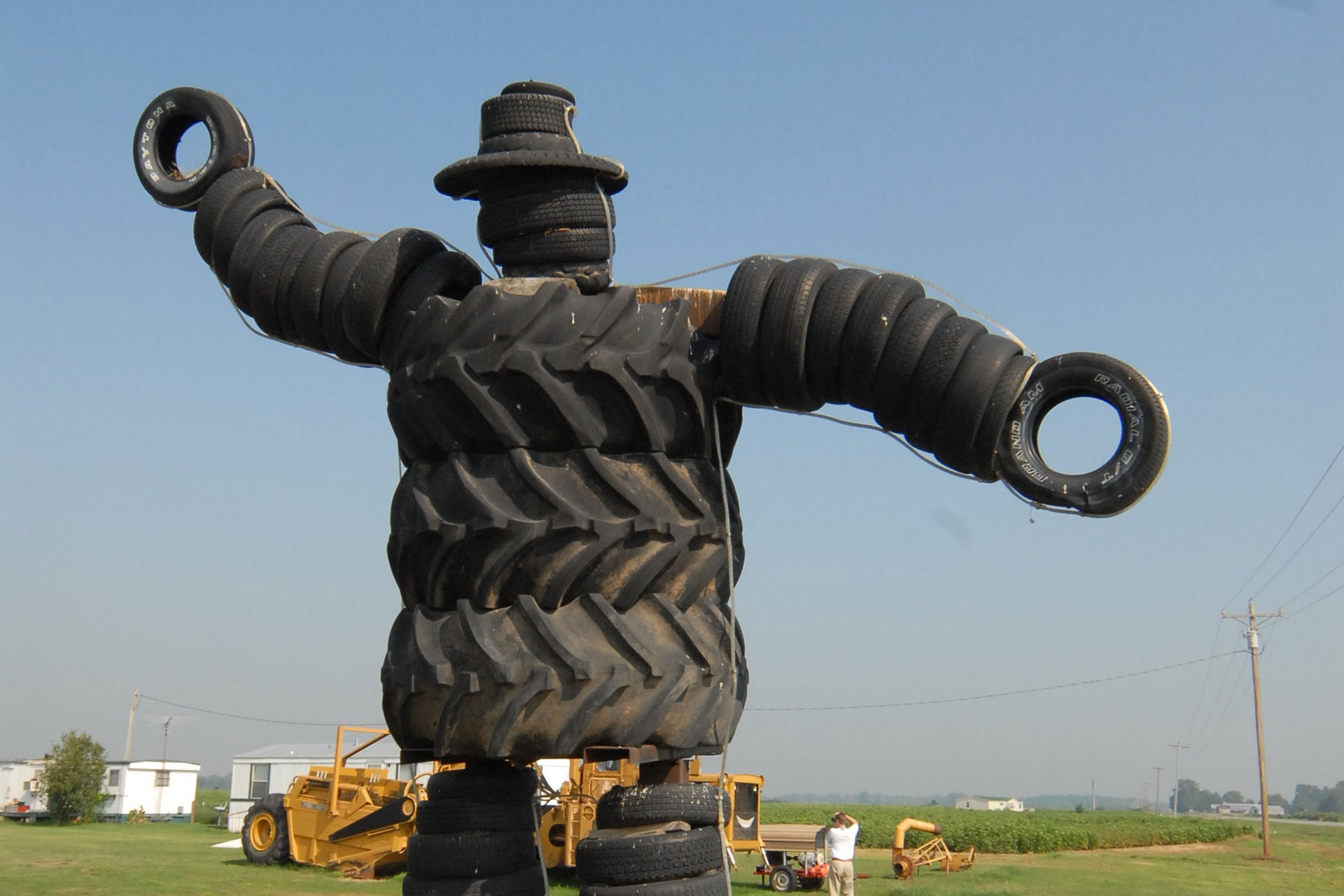 Charlie the Tire Man in Arkansas