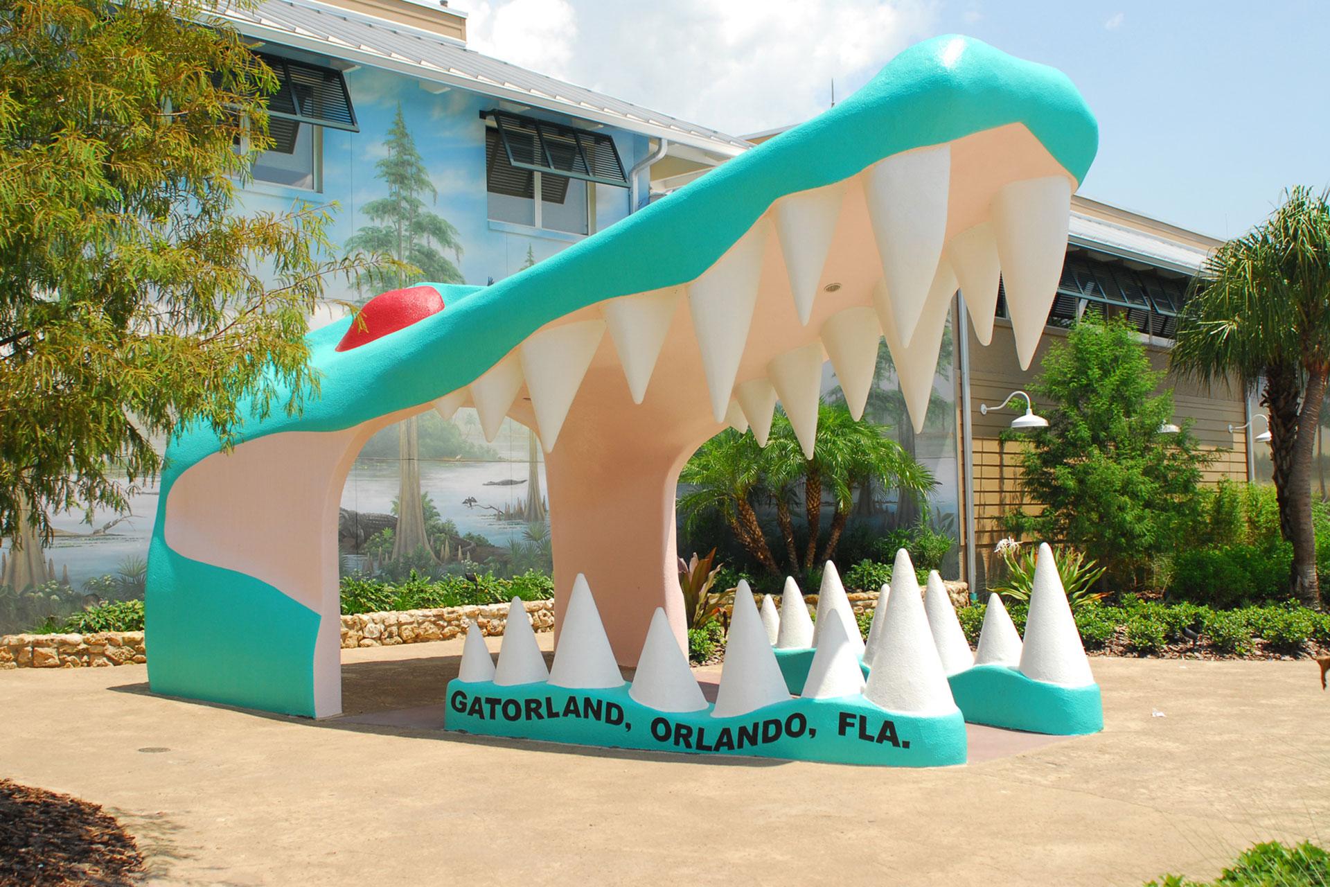 Gatorland; Courtesy of Visit Orlando