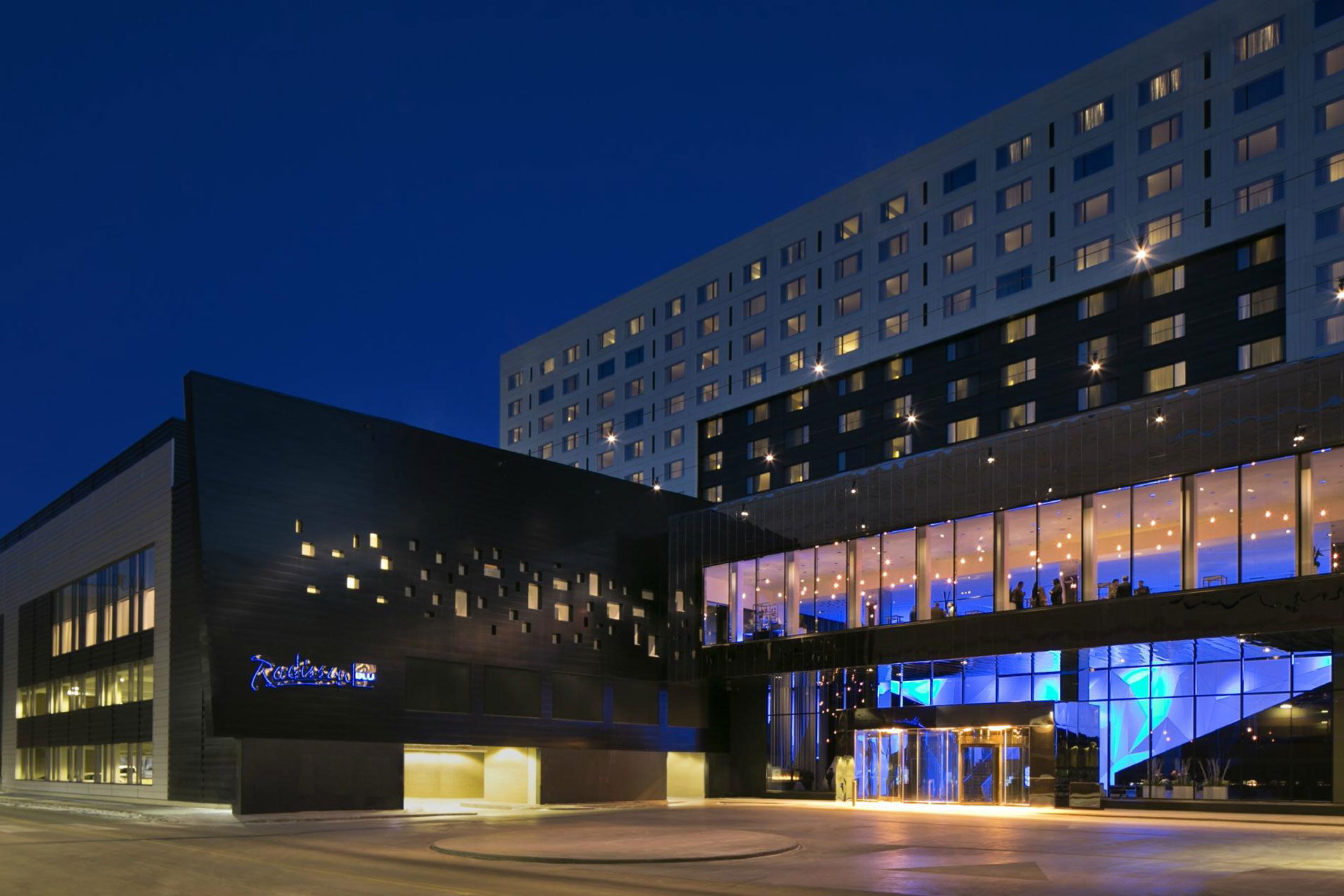 Radisson Blu Mall of America; Courtesy of Radisson Blu Mall of America