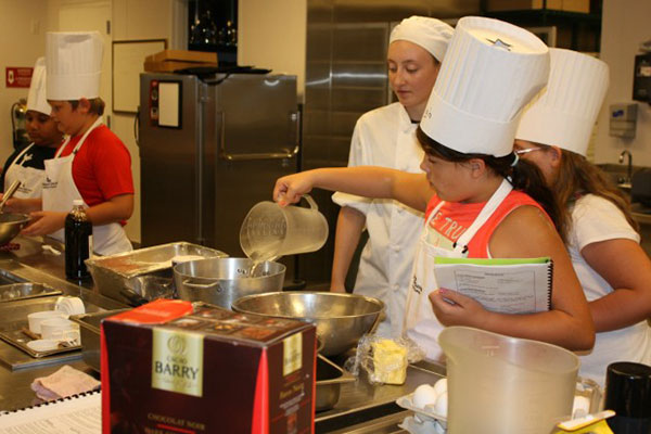 Jekyll Island Club Hotel offers a two-day cooking class for kids.