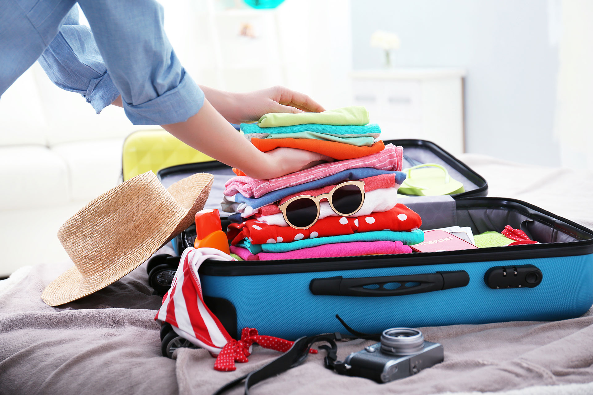 Packing Suitcases for Vacation