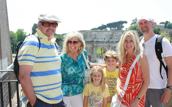 Multigenerational Family Traveling in Italy