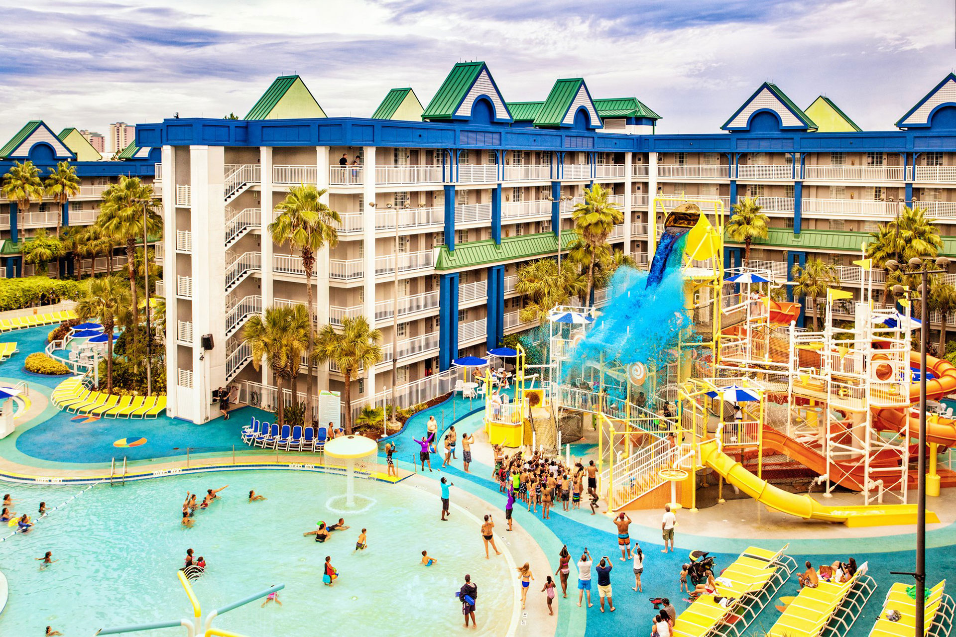Aerial View of Holiday Inn Resort Orlando Suites – Waterpark