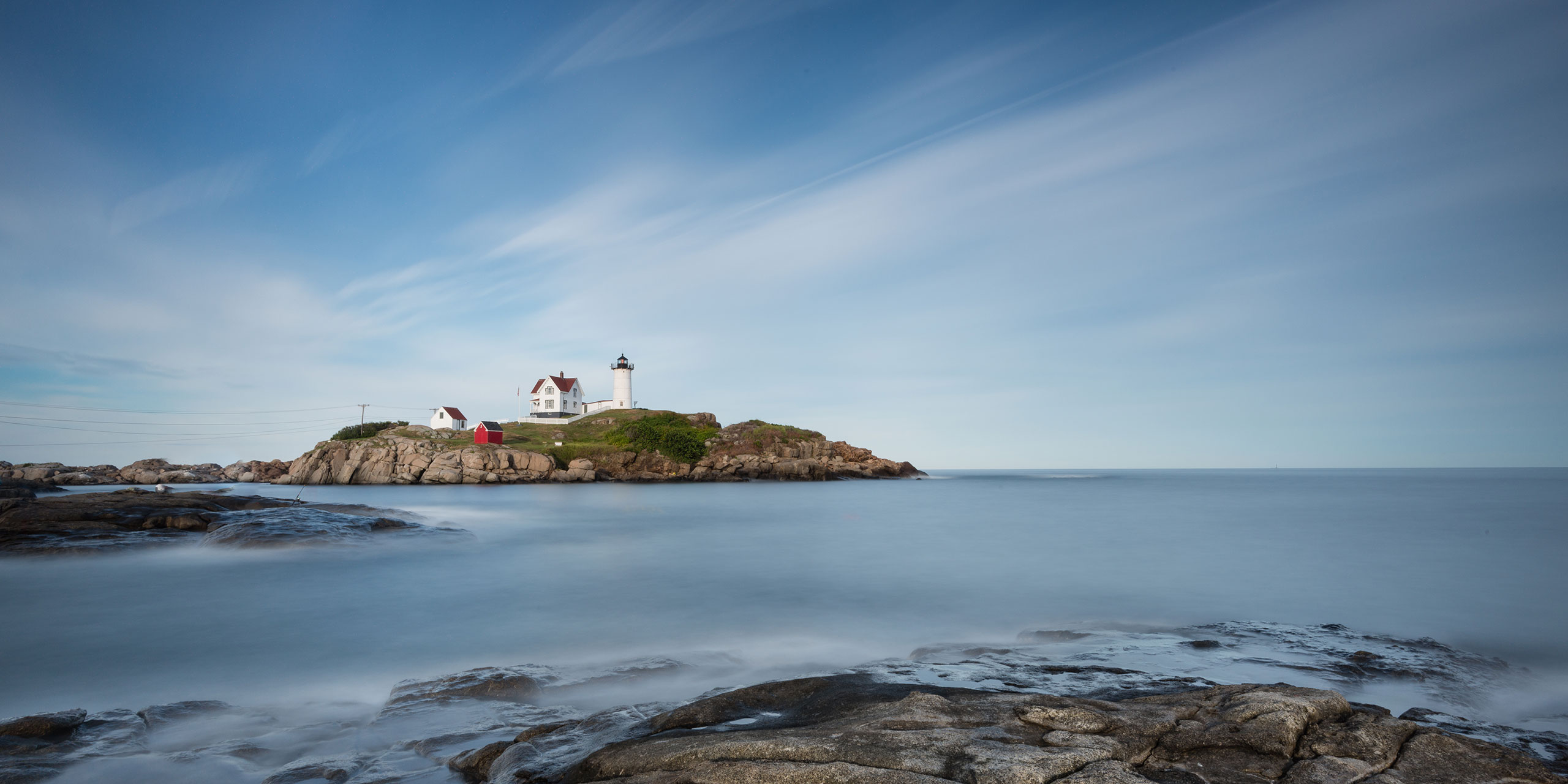 Nubble Light at Cape Neddick; Courtesy of JKom/Shutterstock.com