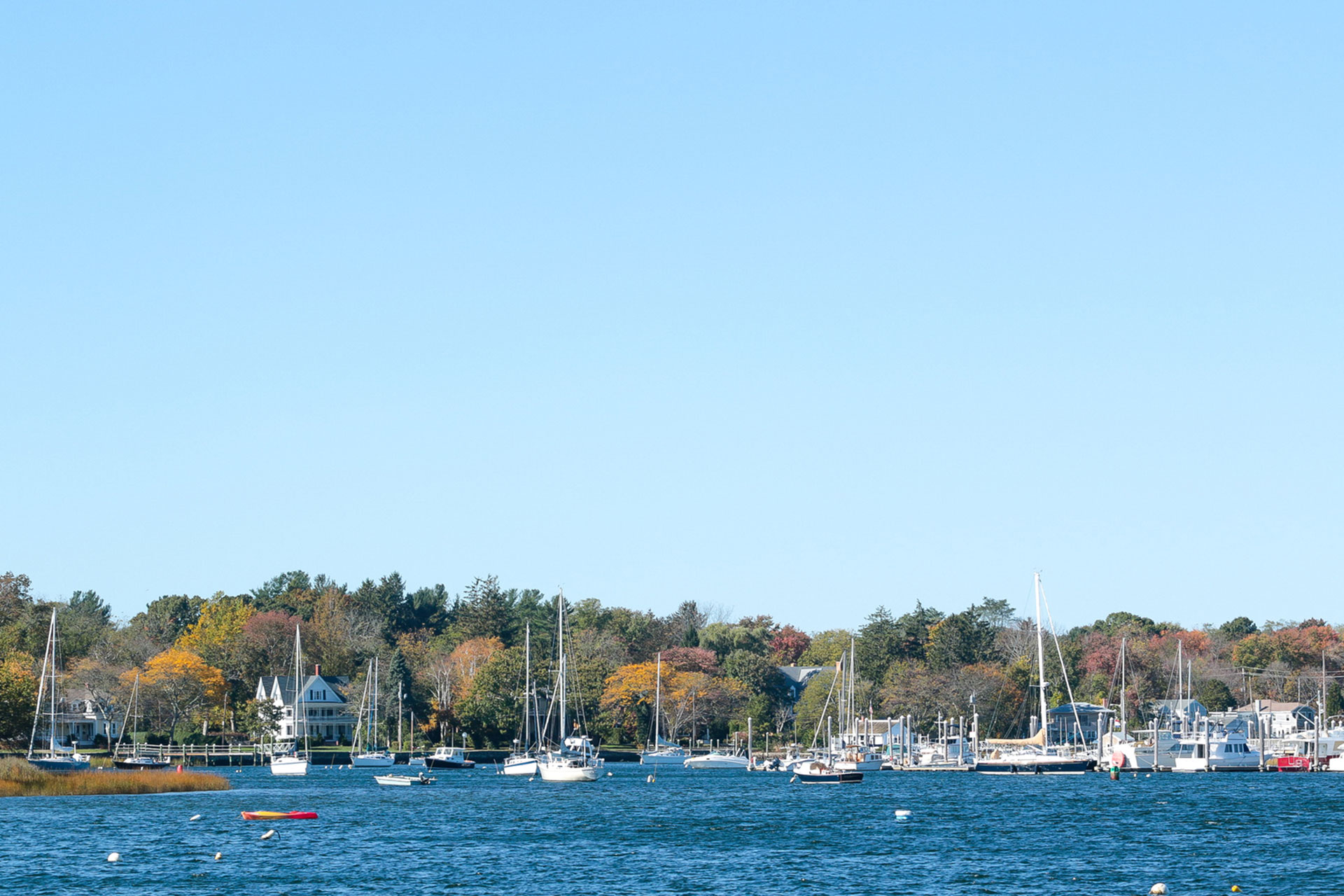 Newport, Rhode Island in the Fall